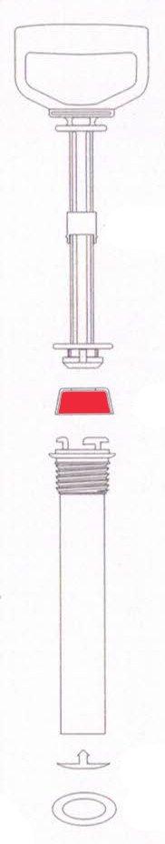 Bucha da Bomba Para Pulverizador de Compressão Prévia de Plástico (5229)