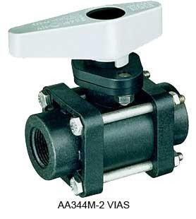 Válvula de Esfera Manual de 2 Vias TeeJet (AA344M) - Canal Agrícola