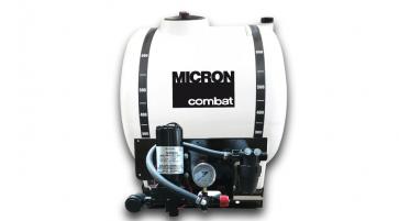 Pulverizador Elétrico Micron Combat Básico de 300 Litros Bomba 2088 (12,5 l/min) com Regulador de Pressão (CBT31BA1)