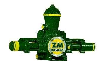 Bomba para Roda D'água com Capacidade de 2200 à 15570 L/dia e 200 à 300m de Altura ZM 38 (5060101) - Canal Agrícola