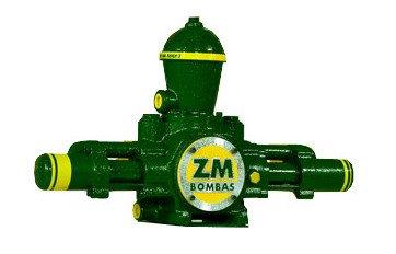 Bomba para Roda D'água com Capacidade de 24.200 à 107.000 L/dia e 90 à 130m de Altura ZM 95 (5060106) - Canal Agrícola