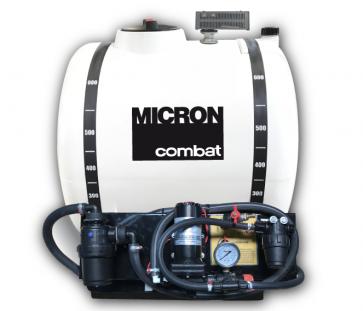Pulverizador Elétrico Micron Combat EX de 600L (Tanque Não Térmico) com Bomba 5059 (20 l/min), Agitador Hidráulico e Regulador de Pressão (CBT60EX5)