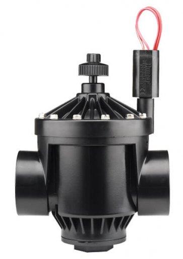 Válvula Elétrica PGV 201 de 2'' com Controlador de Fluxo para Irrigação Hunter - Canal Agrícola