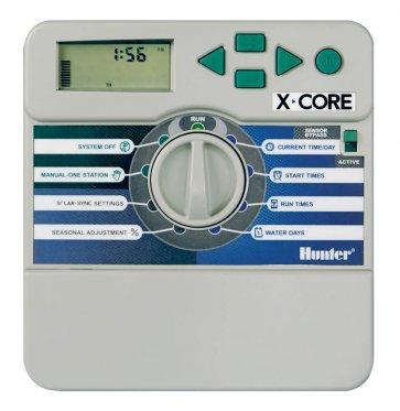 Temporizador para Irrigação Ambiente Interno 4 Estações X-Core 401 IE Hunter - Canal Agrícola