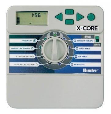 Temporizador para Irrigação Ambiente Interno 6 Estações X-Core 601 IE Hunter - Canal Agrícola