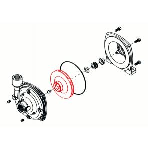 Rotor em Polipropileno (escuro) para Bomba Hypro 9306 (0405-9200P2) - Canal Agrícola