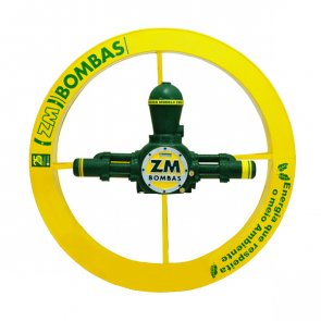 Roda D'água 2,00x0,25m com bomba de 24.200 à 107.000 L/dia e 90 à 130m de Altura ZM-95 (200607) - Canal Agrícola