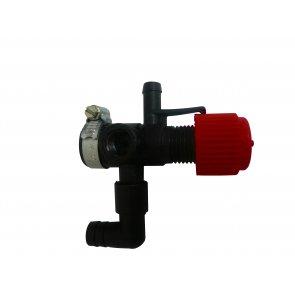 Válvula Reguladora de Pressão com Manômetro e Espigão Micron (CJT0585)