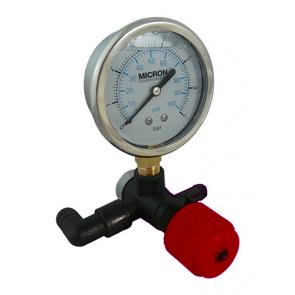 Válvula Reguladora de Pressão com Manômetro e Espigão Micron (CJT0025) - Canal Agrícola
