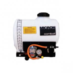 Pulverizador Elétrico Micron Combat Básico 100 Litros Bomba 2088 (12,5 l/min) com Agitador Mecânico e Regulador de Pressão (CBT10BM1)