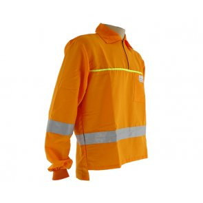 Camisa Roçador Refletiva Laranja Tecmater - Canal Agrícola