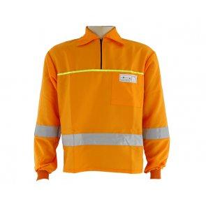 Camisa Roçador Refletiva Laranja Tecmater (515.003.001)