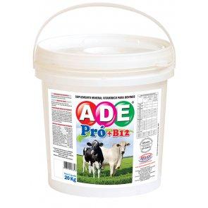 ADE Pró + Vitamina B12 Alivet para Bovinos (Crescimento, Engorda e Reprodução) Balde 20 Kg - Canal Agrícola