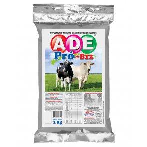 ADE Pró + Vitamina B12 Alivet para Bovinos (Crescimento, Engorda e Reprodução) Pacote 1Kg - Canal Agrícola