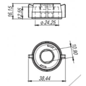 Capa Curta para Engate Rápido Modelo Jacto - Magnojet (M220)