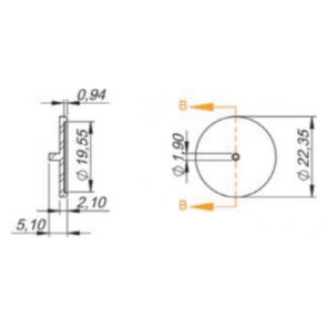 Diafragma para Porta Bico Modelo Magnojet Novo/Arag (M250/2) - 50 unidades