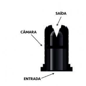 Bico de Pulverização Cerâmico Magnojet Baixa Deriva de Alta Vazão (BD-AV) - Cartela com 10 unidades