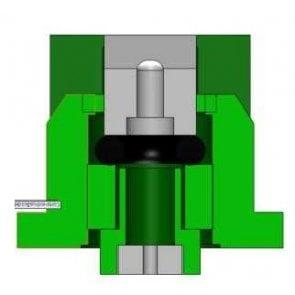 Bico de Pulverização Magnojet AD11005 Marrom (M028)
