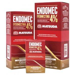 Endomec Ivermectina 4% Matsuda - 1 Litro (08.0012.02)
