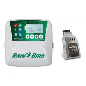 Temporizador para Irrigação Ambiente Interno 8 Estações ESP RZXe Rain Bird com Módulo Wi-fi - 220V