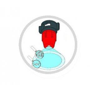 Bico de Pulverização Cerâmico Micron CAU03 - Azul (CA-U-03)