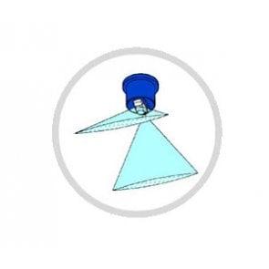 Bico de Pulverização Cerâmico Duplo Leque com Indução de Ar - Micron (DBXA)