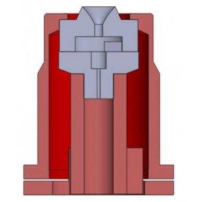 Bico de Pulverização Magnojet CH10003 Cinza (M387)