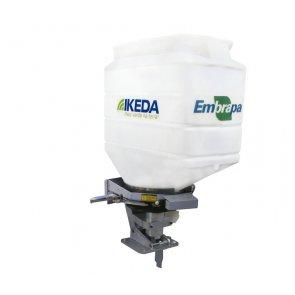 Semeadora Adubadora MS100-CR Acoplável a Tratores 100 Litros - Ikeda (MS100-CR)
