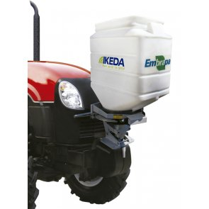 Semeadora Adubadora MS100-CR Acoplável a Tratores 100 Litros - Ikeda - Canal Agrícola