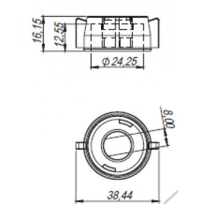 Capa com Engate Rápido Modelo Jacto (M219)