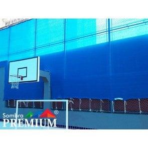 Tela de Sombreamento Sombra Premium Azul - Bobina 5,2x50m - Ráfia - 180 g/m2 - Ginegar/Polysack