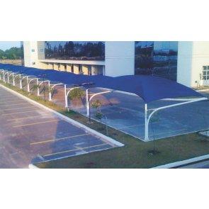 Tela de Sombreamento Sombra Premium Azul/Preta - Bobina 5,2x50m - Ráfia - 180 g/m2 - Ginegar/Polysack