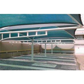 Tela de Sombreamento Sombra Premium Verde/Preta - Bobina 5,2x50m - Ráfia - 180 g/m2 - Ginegar/Polysack