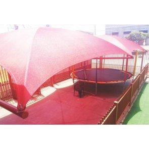 Tela de Sombreamento Sombra Premium Vermelha - Bobina 5,2x50m - Ráfia - 180 g/m2 - Ginegar/Polysack