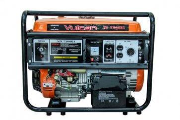 Gerador Gasolina Monofásico VGE 7200 - 127/220V 6,5KVA Vulcan (56532) - Canal Agrícola