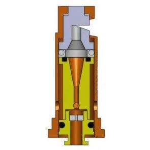Bico de Pulverização Cerâmico Magnojet Turbo Magno com Indução de Ar (TM-IA) - Cartela com 10 unidades