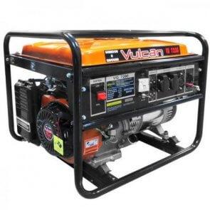 Gerador Gasolina Monofásico VG 7200 – 15 HP - Partida Manual - Vulcan (80067) - Canal Agrícola