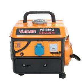Gerador Gasolina Monofásico 110V 0,75 KVA VG950 Vulcan (56099)