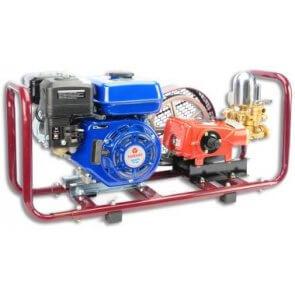 Pulverizador Estacionário com Base e Motor à Gasolina 5,5 HP YAMAHO HS-22 (HS22BIMM5) - Canal Agrícola