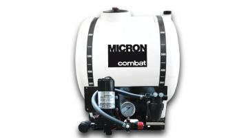 Pulverizador Elétrico Micron Combat Básico 300 Litros Bomba 5059 (20 l/min) com Regulador de Pressão (CBT31BA5)