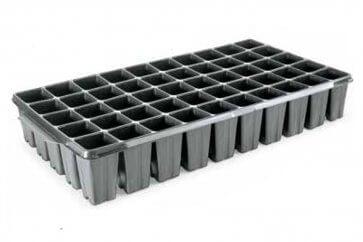 Bandeja Plástica para Mudas de Cana-de-Açúcar 50 células quadradas de 136ml Nutriplan - Canal Agrícola