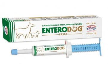 Vitamina para Cachorro Enterodog Alivet Seringa 14g - Canal Agrícola