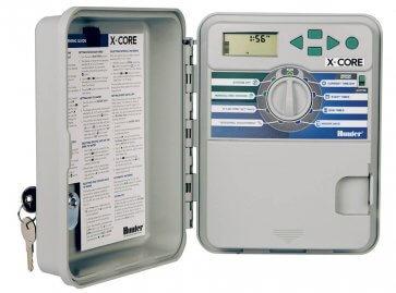 Temporizador para Irrigação Ambiente Externo 8 Estações X-Core 801 E Hunter - Canal Agrícola