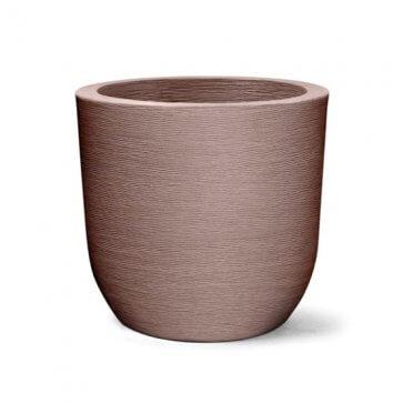 Vaso Decorativo Redondo Grafiato Tabaco 43x40 cm - 40L - Nutriplan (N40)