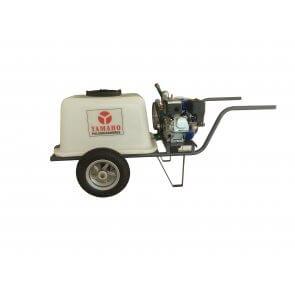 Pulverizador de Carrinho HS-30 com Tanque 130 L e Motor Gasolina 5,5 CV Yamaho (HS30TY130T) - Canal Agrícola