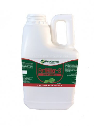 Fertilizante Foliar Fisioativador Fertikiller-S 5 Litros Fertiquímica - Canal Agrícola