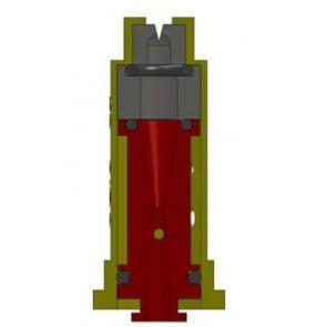 Bico de Pulverização Cerâmico Magnojet Antideriva com Indução de Ar 80 graus (ADIA) - Cartela com 10 bicos