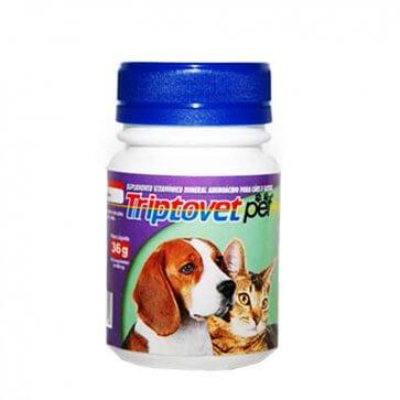 Vitamina para Cães e Gatos Triptovet Pet Alivet Frasco 60 comprimidos - Canal Agrícola