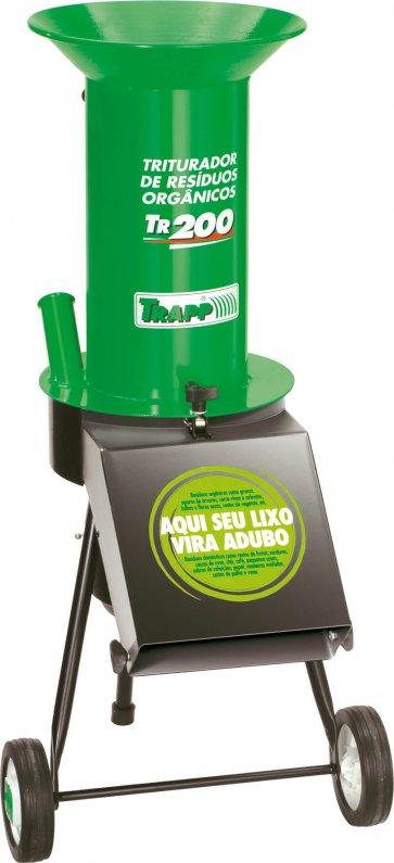Triturador de Resíduos Orgânicos TR 200 com Motor Trapp - Canal Agrícola
