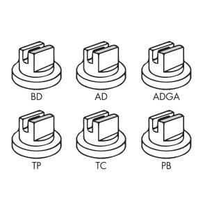 Capa Curta para Engate Rápido para Bicos Série BD / AD / ADGA / TP / TC / PB  Magnojet com Anel de Vedação (M223 + M217)